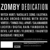 Okładka Zomby - Dedication