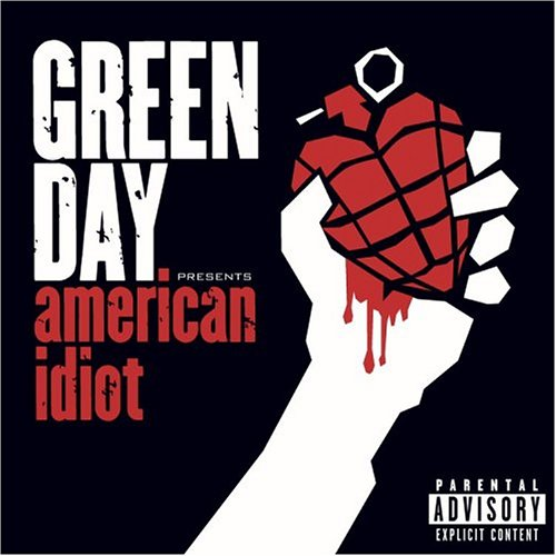 Okładka Green Day - American Idiot