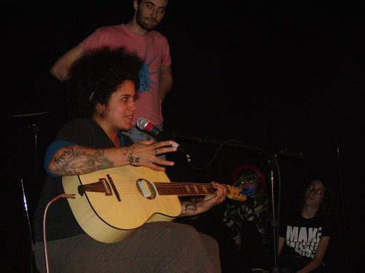 Zdjęcie Kimya Dawson, Tiny Masters Of Today, Angelo Spencer, Banzai - Nowy Jork, Southpaw