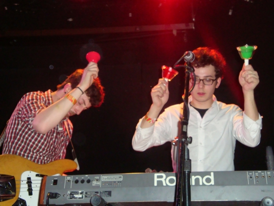 Zdjęcie Passion Pit / Paper Route / Cale Parks - Bowery Ballroom, Nowy Jork