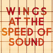 Zdjęcie Wings – Wings at the Speed of Sound